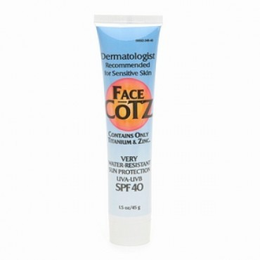 3. Cotz Face Cotz Sensitive Skin Sunscreen