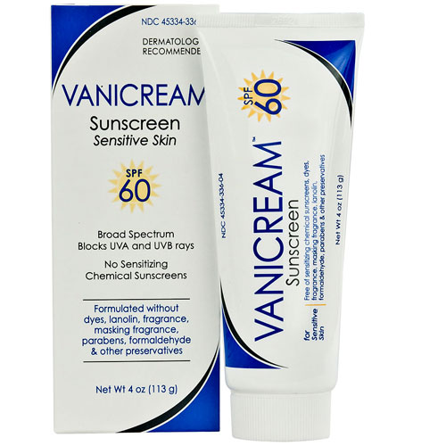 4. Vanicream Sensitive Skin Sunscreen SPF 60